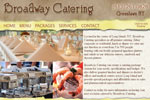 Catering Websites Designs, web design for caterers