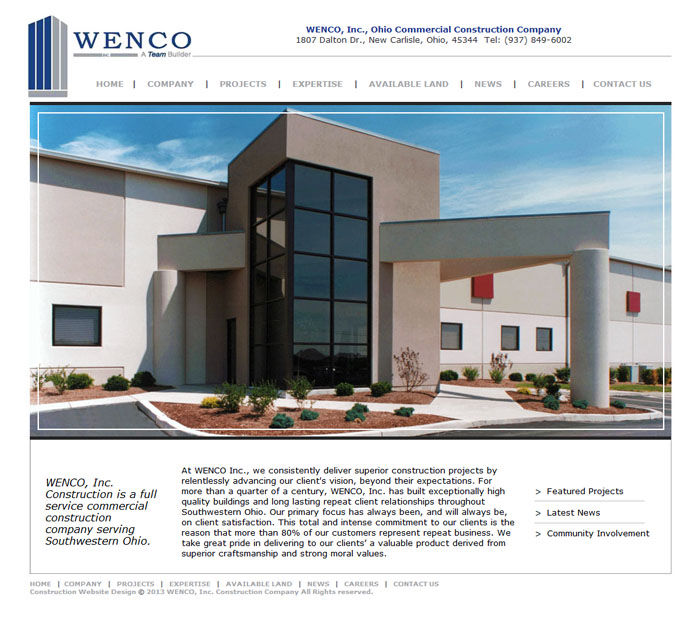 Contractor Website Design, Contractor Web Design, Contractor