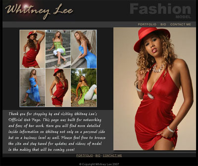 Modelling pictures website.