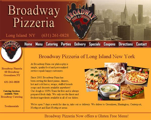 Restaurant website design catering website design for Design a restaurant online