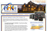 HVAC Heating and Cooling Contractor Website Design