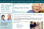 home health care websites, home health care website design