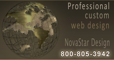 Events Management Website | Event Management Websites | Custom Website Design by NovaStar Design